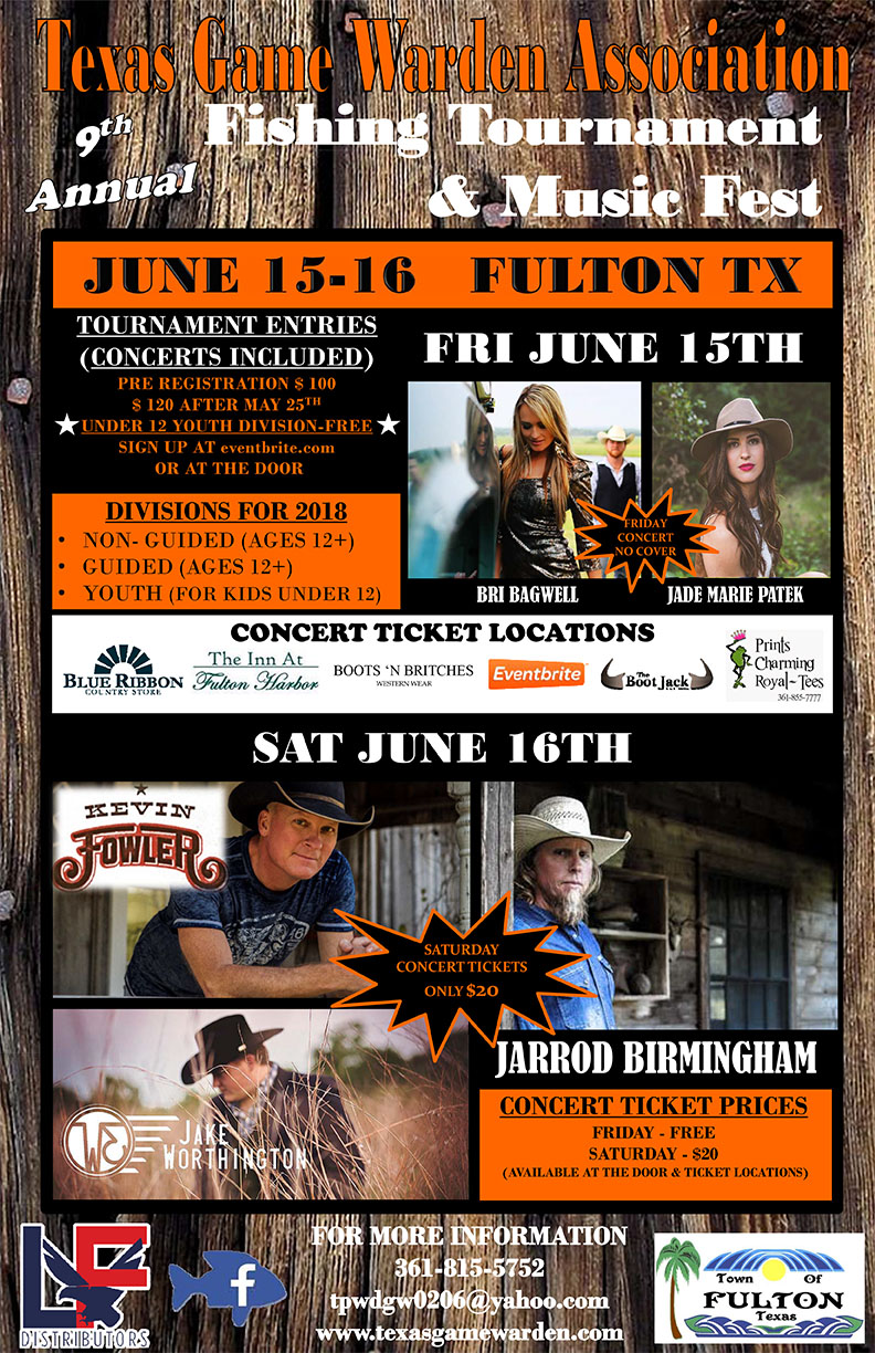 9th Annual Fishing Tournament and Music Fest
